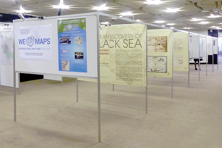 The Cartographic Exhibition of Wall Maps at FIG Working Week