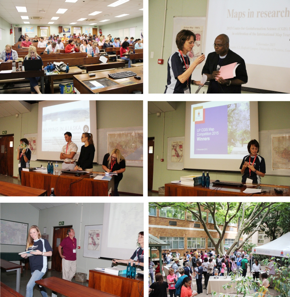 2015 CGIS Mini-Conference: Maps in Research at UP, 6 November 2015