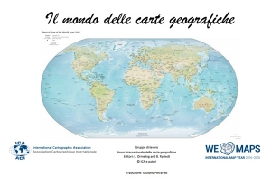 Italian version of The World of Maps available