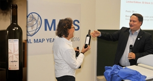 The Map Year Wine – a fine red wine from the Mont Vully region, strictly limited to 50 numbered bottles