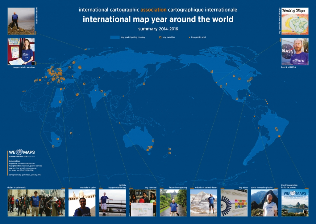 IMY activities in ICA News. Map by Igor Drecki.